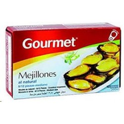MEJILLONES GOURMET NAT.OL120 8/12
