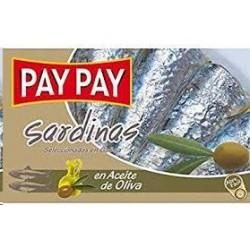SARDINAS PAY PAY ACEITE OLIVA 120GR