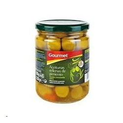 ACEITUNAS GOURMET RELL.PIMI.420 FCO