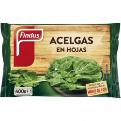 ACELGAS HOJAS FINDUS 400GR