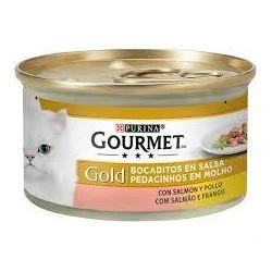 FRISK GOURMET GOLD SALMON POLLO 85