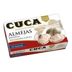 ALMEJAS CUCA AL NATURAL 11/15 PZAS