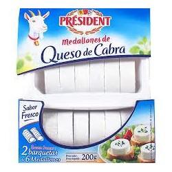 QUESO CABRA PRESIDENT MEDALL.2X100G