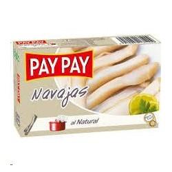NAVAJAS AL NATURAL PAY PAY OL-120