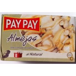 ALMEJAS AL NATURAL PAY PAY 115GR