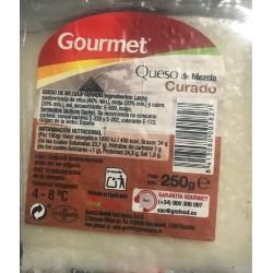 QUESO GOURMET CURADO 260GR CUÑA