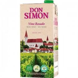 VINO DON SIMON ROSADO BRICK 1L