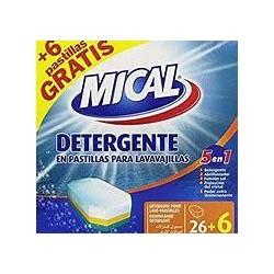 DETERGENTE MICAL 5 EN 1 PAS.26+6
