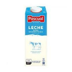 LECHE PASCUAL SEMIDESNATADA 1L