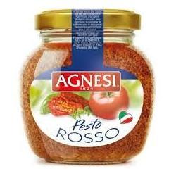 SALSA PESTO ROSSO 185 GRS AGNESI