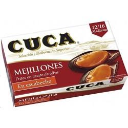 MEJILLONES EN ESCABECHE CUCA