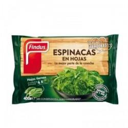 ESPINACA FINDUS CORTADA SERRADA 400