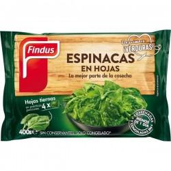 ESPINACA FINDUS HOJA SERRADA 400GR