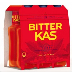 BITTER KAS SIN ALCOHOL PACK-6