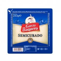 QUESO GARCIA BAQUERO SEMI CUÑA 250G