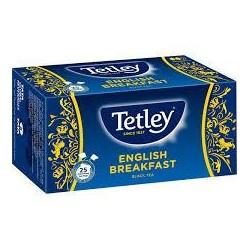 TE TETLEY DESAYUNO INGLES 25 SOBRES