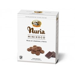 GALLETAS NURIA MINI CHOCO 275 GRS