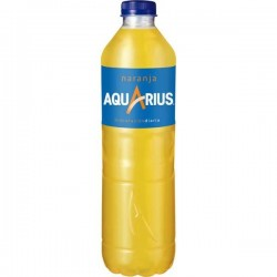AQUARIUS NARANJA PET 1,5L