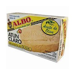 ATUN CLARO ALBO EN ACEITE OLIVA OL-120