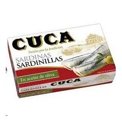 SARDINILLA EN ACEITE DE OLIVA CUCA RR-90