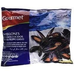 MEJILLONES ENTEROS GOURMET 1 KGR