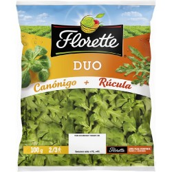 DUO FLORETTE CANONIGO+RUCULA 100G