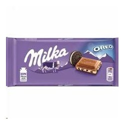 CHOCOLATE MILKA OREO 100 GRS