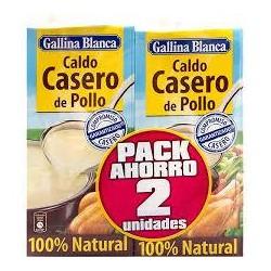 CALDO CASERO DE POLLO 2º UNIDAD 50% G.B.