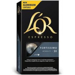 CAFE L' OR  FORTISSIMO 10 CAP