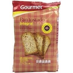 PAN TOSTADO GOURMET INTEGRAL 30 UN.