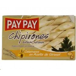 CHIPIRONES RELLENOS ACEITE OL-120 PAY PA