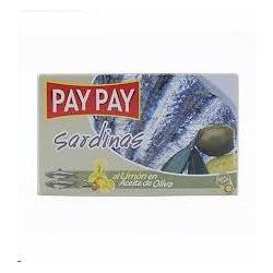 SARDINAS PAY PAY ACEITE OLIV LIMON