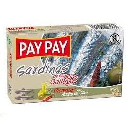 SARDINAS PAY PAY PICANTES AC. OLIVA