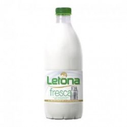 LECHE LETONA FRESCA SEMI 1L