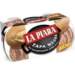 PATE LA PIARA TAPA NEGRA 83 GRS