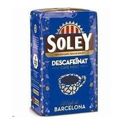 CAFE DESCAFEINADO SOLEY MOLIDO
