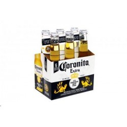 CERVEZA CORONITA PACK 6 UNIDX210 ML