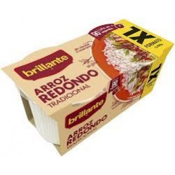 ARROZ BRILLANTE REDONDO XL 2X200 GRS