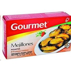 MEJILLONES GOURMET PICANTES 13/18 70 G