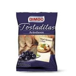 MINI TOSTAS CON ARANDANOS 100 G BIMBO