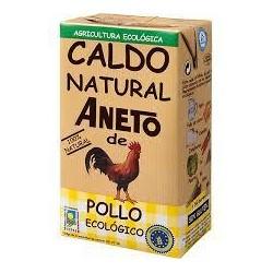 CALDO NATURAL POLLO ECOLOGICO 1 LT ANETO