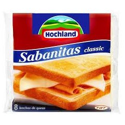 QUESO LONCHAS SABANITAS 8 UNI.