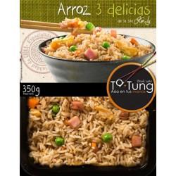 ARROZ TA TUNG 3 DELICIAS 350 GRS