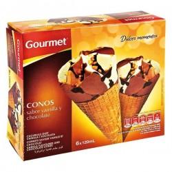 HELADO GOURMET CONO CHOCO VAIN 6