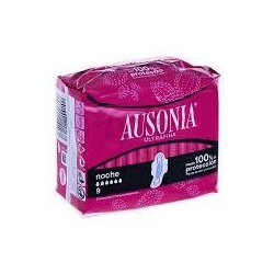 COMPRESA AUSONIA AIR DRY NOCHE 8U