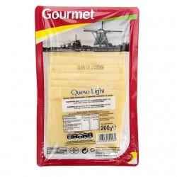 QUESO GOURMET LIGHT LONCHAS 200GR