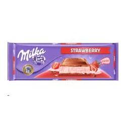 CHOCOLATE MILKA FRESA 300GR