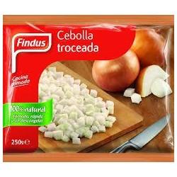 CEBOLLA TROCEADA 250 GRS FINDUS