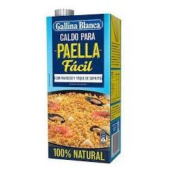 CALDO GALLINA BLANCA PAELLA FACIL