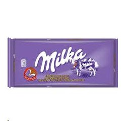 CHOCOLATE MILKA C/LECHE EXTRAF.125G